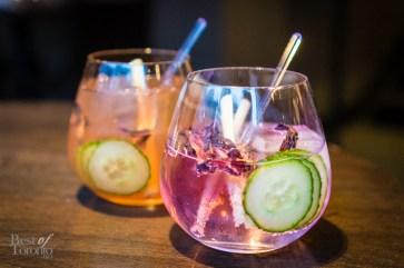 Botanist Gin + NB House Tonic, Citadelle Gin & Fever Tree Tonic