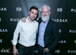 Bachelor Canada's Tim Warmels with Paul Mason