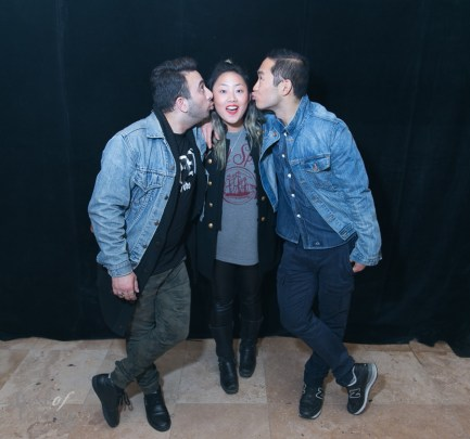 Sharad Mohan, Joanne Jin, Lance Chung | Photo: Nick Lee