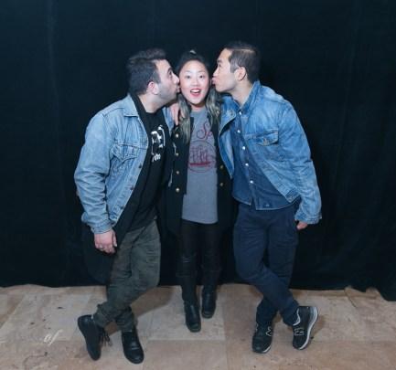Sharad Mohan, Joanne Jin, Lance Chung | Photo: Nick Lee