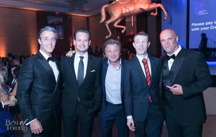 Ben Mulroney, Patrick Adams (Suits), Stephen Fanuka, Joel Zimmerman (Deadmau5), Bryan Baeumler