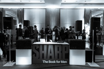 Sharp Magazine DJ Booth