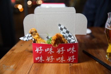 Kanpai Snack Bar's famous TFC Taiwanese Fried Chicken
