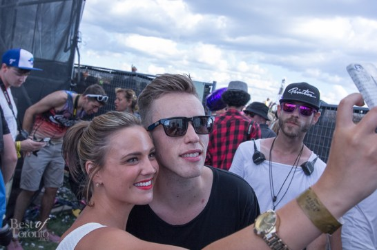 Nicky Romero allowing a few photo ops