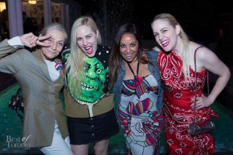 Andrea Bolley, Beckerman sisters, Natalie Deane