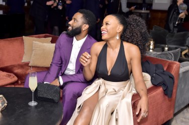 John David Washington;Chanté Adams (Photo by Stefanie Keenan/Getty Images for Grey Goose)