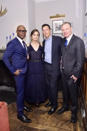 Cameron Bailey;Keira Knightley;Andrew Karpen;Wash Westmoreland (Photo by Stefanie Keenan/Getty Images for Grey Goose)