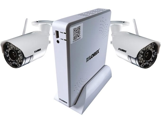 Lorex 4 Channel Wireless Security System 500gb