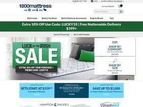 1800 Mattress Coupons