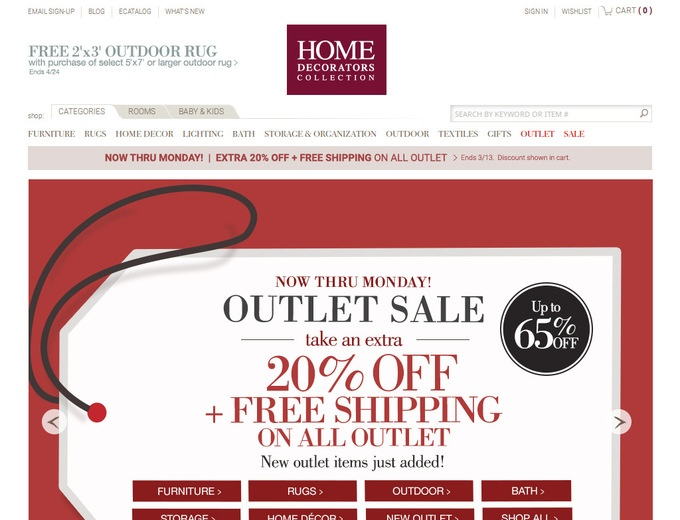 Home Decorators Free Shipping Promo Code