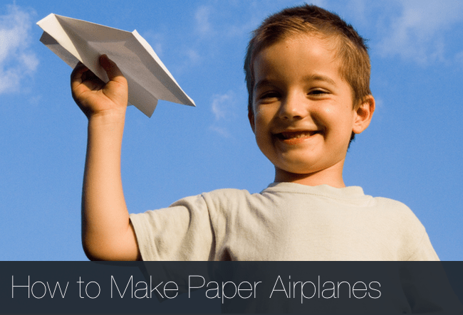 How-Make-Paper-Airplanes