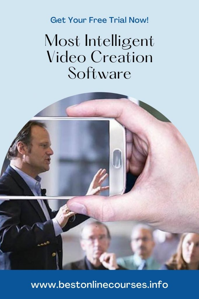 Most Intelligent Video Creation Software - Free Trial