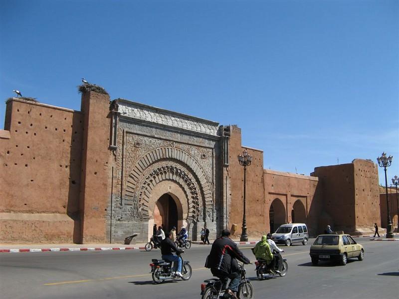 Morocco - Marrakech Bab Agnaou Gate in Morocco