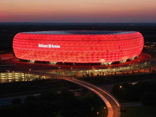 El Allianz Arena listo para la semifinal