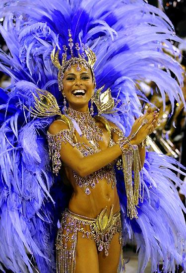 Rio de Janeiro Carnival, Brazil - Beautiful costumes