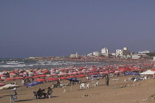 Ain Diab in Morocco - Ain Diab Beach view