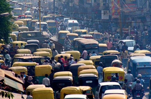 Image result for Delhi crowded