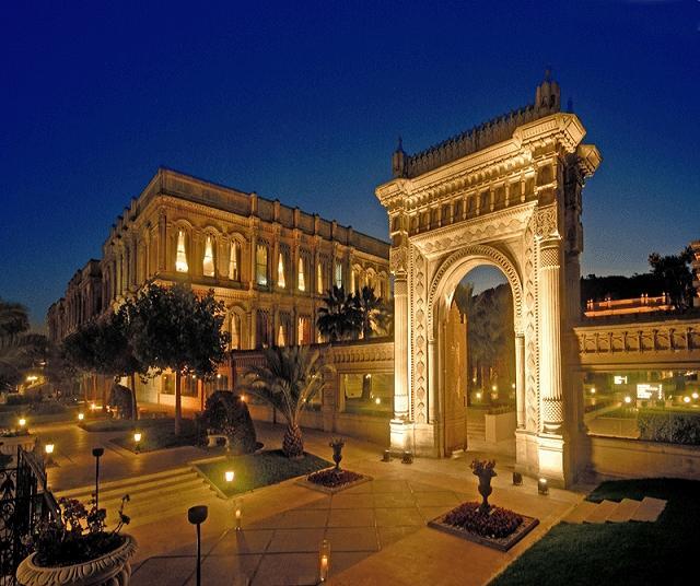 Hotel Ciragan Palace - Beautiful architecture