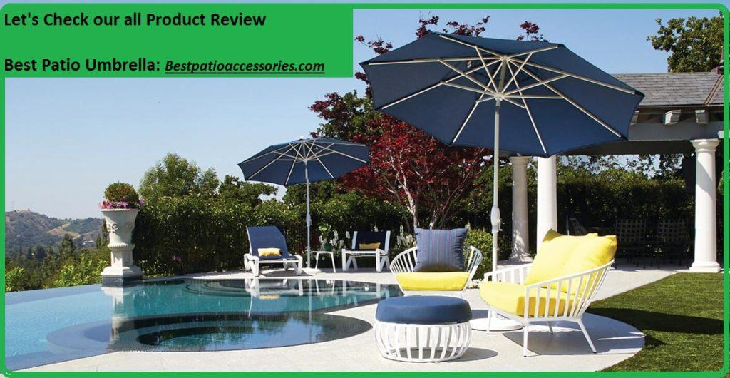 best patio umbrella reviews stylish