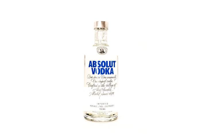Best Pizza Absolut Vodka