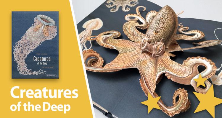 Creatures Of The Deep The Pop Up Book By Maike Biederstaedt