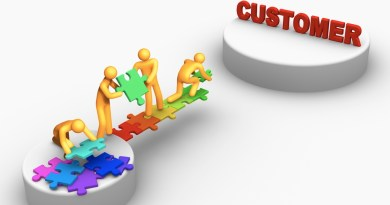 crm building the puzzle bridge to customers