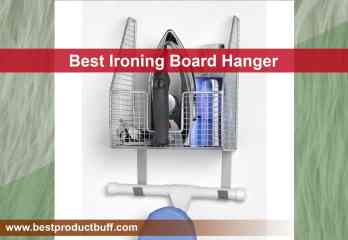 Top 10 Best Ironing Board Hangers Review in 2020