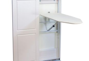 Top 10 Best Wall-Mounted Ironing Boards Fold-down/In-built Cabinets 2020 Review