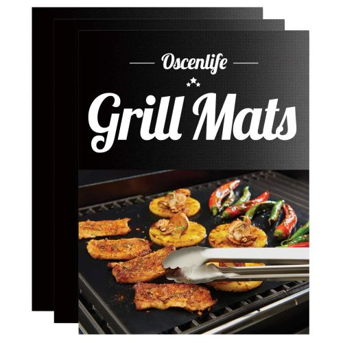 OscenLife BBQ Grill Mats -The best large grill mat for sufficiency
