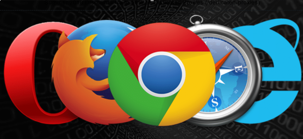 Proxies for Top 5 Web Browsers