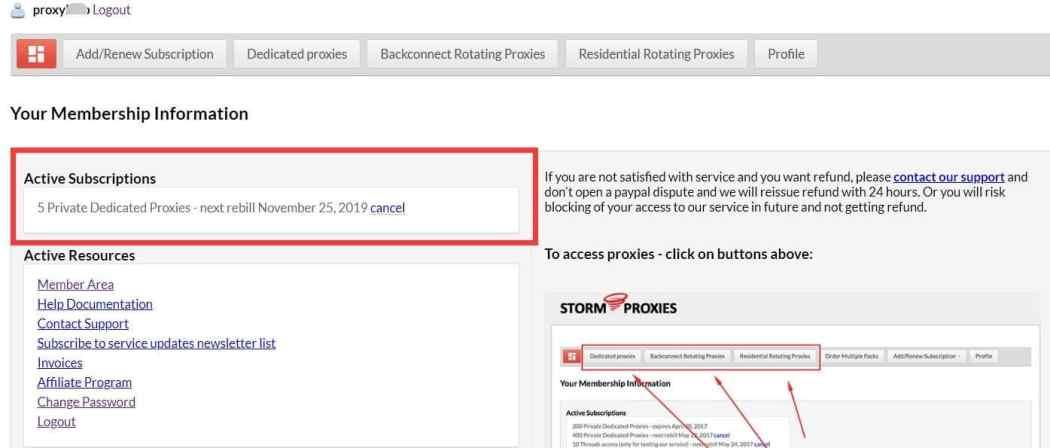 Buy stormproxies to test