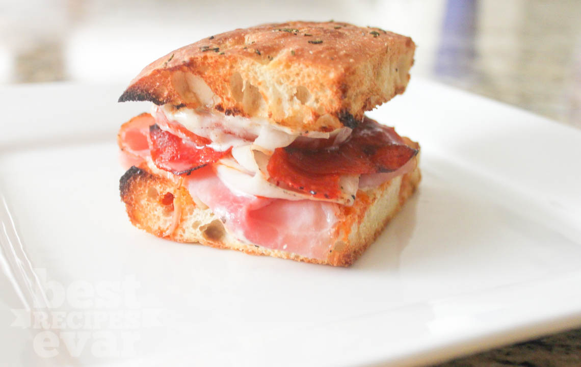 High Desert Pizza S Famous Focaccia Sandwich Best Recipes Evar