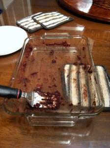 Best brownies clean pan