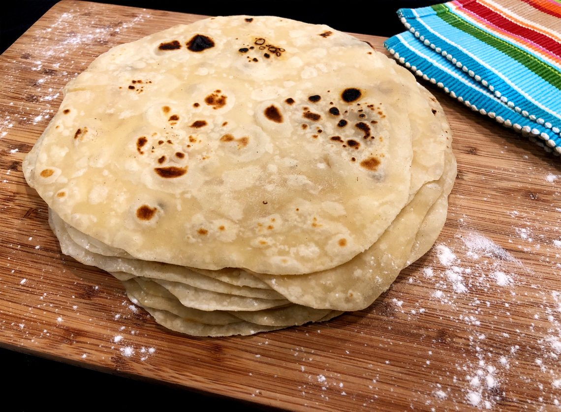 Mexico Style Flour Tortillas