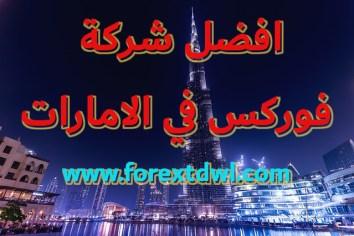 افضل شركة فوركس في الامارات