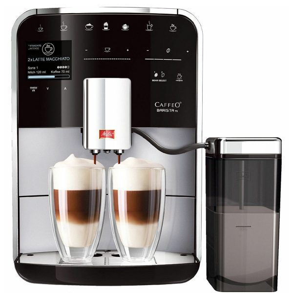 Melitta Caffeo Barista TS is the best bean to cup coffee machine