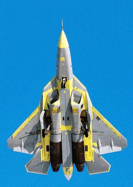 PAK-FA ou T-50 (http://www.bestrussiantour.com)