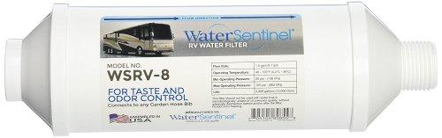 Water Sentinel WSRV-8 Inline RV Water Filter with Hose Bib Connection