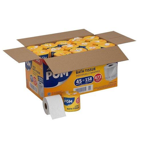 pom-2-ply-bath-tissue-best-rv-toilet-paper