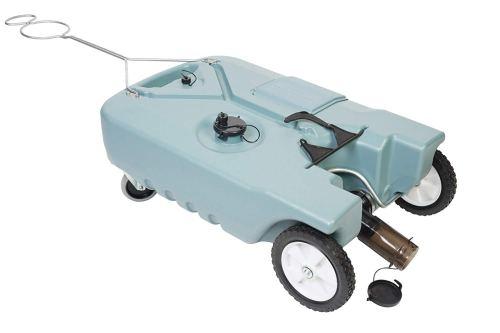 Tote-N-StorePortable Waste Transport 4 Wheeler