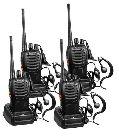 Arcshell Rechargeable Long Range Two-Way Radios