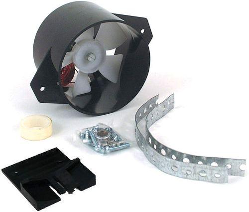 Valterra Black A10-2618VP FridgeCool Refrigerator Exhaust Fan for RV
