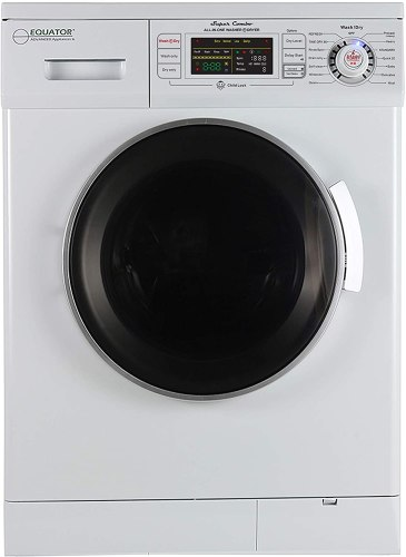 Equator 24-Inch Compact All-in-One Combo Washer-Dryer for RV