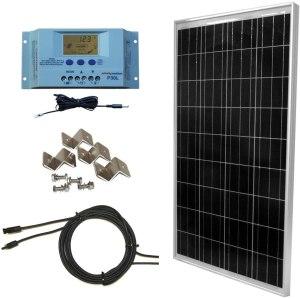 Windy Nation 100 Watt Top 10 RV Solar panels