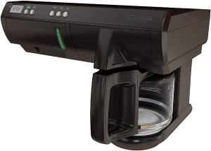Black and Decker under counter top 10 RV Coffee Makers