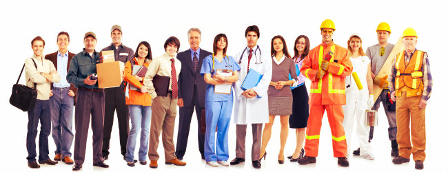 Image result for White collar work
