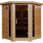 Radiant Saunas 4-Person Infrared Sauna with 10 Carbon Heaters