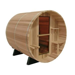 2 Person Outdoor Traditional Sauna w/ Canadian Cedar