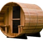 Almost Heaven Saunas 4-Person Canopy Barrel Sauna
