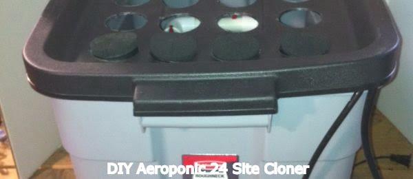 Aeroponic 24 Site Cloner